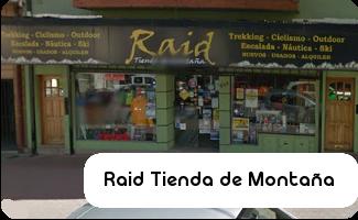 Raid Tienda de Montaña - D2 Colgantes