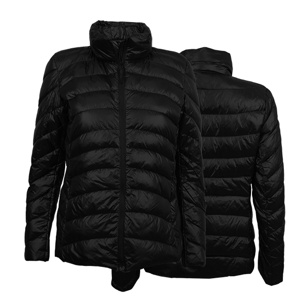 Campera Ultra Light Down Mujer D2 Colgantes